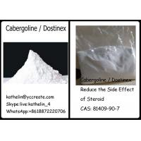 Pharma Raw Powder Cabergoline / Dostinex Reduce the Side Effect of Steroid CAS: 81409-90-7 Manufactures