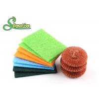 Copper Wire Mesh Metal Dish Scrubber Effective To Remove Stubborn Stains Manufactures