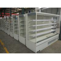 Vertical Commercial Supermarket Display Refrigerator For Dairy , Milk , Cheese Manufactures