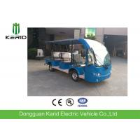 Blue 48V 9 Passengers Electric Tourist Bus For Hotel / Club / Resort Manufactures