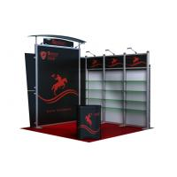 Aluminum Standard 3 x 3m Creative Trade Show Booths Easy Set Up Manufactures