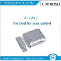 China gsm magnetic door sensor alarm, wireless door alarm lock system rf-v13 on sale