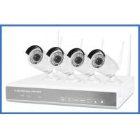 720p 4ch h.264 Wireless Nvr Kits High Resolution 1/4 Coms Sensor For Family/Store Manufactures