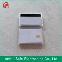 printable inkjet pvc chip and magnetic stripe card Manufactures