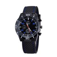 Men Sports Silicon Wrist Watch ,OEM Multifunction Chrono Quartz Watch,Fashion Wrist watch with big size Manufactures