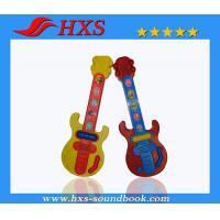 China Customized Outlook Cartoon Printing Plastic Guitar Learning Machine on sale