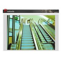 Energy Saving Moving Walk Escalator Subway Escalator Low Speed 15 Fpm High Speed 100 Fpm Manufactures