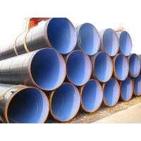 ASTM A53 / ASTM A36 Anti Corrosion Pipe For Petroleum , PE / FBE Anticorrosive Surface Manufactures