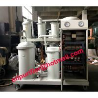 High Vacuum Lube Oil Filtering Machine, Waste Lubricants Oil Treatment System with standard electric control box Manufactures