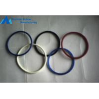 High Tensile Strength Colored Viton Rubber O Band Rings Application Static Sealing Manufactures