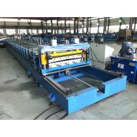 China Efficient Corrugated Roof Panel Roll Forming Machine 0.2-0.3mm Thickness on sale