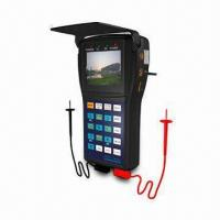 CCTV Tester with 2.5-inch TFT Screen, 12V DC Output Power, Multi-meter Function and UTP Cable Test  Manufactures