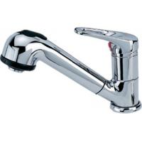 One Handles Pull - Out Kitchen Mixed Faucets Finished By Chrome Manufactures