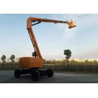 Articulated Boom Upright Mobile Elevating Work Platform Diesel Powered 18.1M Maximum Horizontal Reach Manufactures