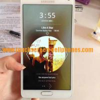 MP3 WAV AMR AAC Wifi 3G Phone / Finger Print Cell Phone Samsung Galaxy Note 4 Manufactures
