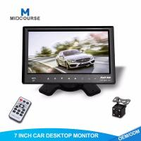 China Adjustable Car Dash Monitor HD Rear View Camera And Car Multimedia System on sale