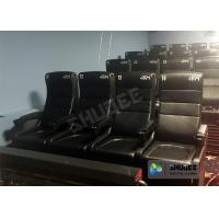 Large Screen 4D Cinema System With Comfortable Pure Hand-Wrapped PU Leather Motion Seats Manufactures