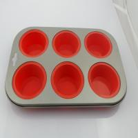 China Non-Toxic Silicone Kitchenware , Cake Pop Set Baking Tray Mold For Microwave on sale