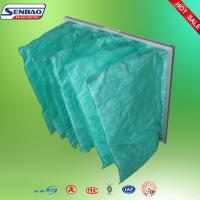 Air Handling Unit Air Conditioning Air Filters , Pocket Cleaning Air Filters Manufactures