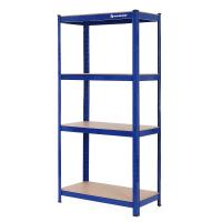 Boltless Metal Storage Rack , Heavy Duty Shelving Rack 150x75x30 Cm Firm Stable Manufactures