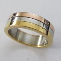 Wholesale Engagement 316L Stainless Steel Spin Rings in Three Colors Manufactures