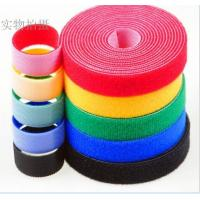 100% Nylon Hook And Loop faestener / Double sided hook and loop tape / Hook and loop cable ties Manufactures