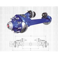 Blue Color Truck Spare Parts Non Driving Axle Disk Brake Axle Series 11-13T Manufactures