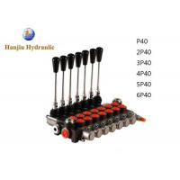 Buy cheap 40L/Min Monoblock Hydraulic Directional Control Valve for Agriculture Machine from wholesalers