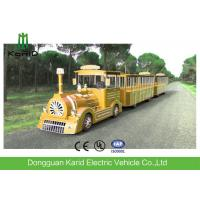 Trackless Diesel Engine Mini Express Trackless Train For Amusement Park Manufactures