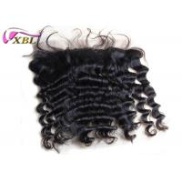 Loose Deep Wave Full Lace Frontals With Baby Hair For Swiss Lace Base Full Ends Manufactures