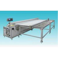 China 3.2 M /4M Ultrasonic roller blinds cutting machine automatic feeding & rewinding fabrics on sale