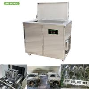 360 Litres Ultrasonic Engine Cleaner 28khz For Turbocharger / Diesel Engine Part Manufactures