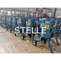 China Customized Portable Sand Blasting Machine Paint Steel Structure Fast Removal on sale