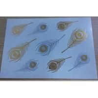 Shimmer Gold and Silver Temporary Tattoos for women and girls Manufactures