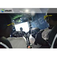 Virtual Reality Hydraulic / Electric 5D Simulator For 5D Movie Theater Manufactures