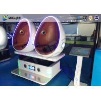 3D Glasses 9D VR Cinema Virtual Reality Simulator With Electric Motion Chair Manufactures