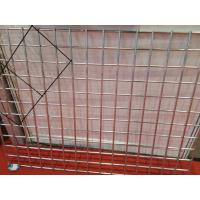 Quality 3.0 mm Flat Surface Powder Coated Wire Mesh Panels Durable For Construction for sale