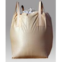 PP woven big bag with 4 lifting loops with top &bottom spout Manufactures