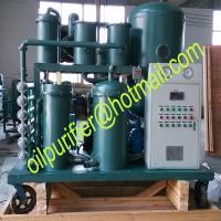 Buy cheap Lubricant Oil Recycling System,Coalescing and Dehydration Oil Filtering Machine,Vacuum Gear Turbine Lube Oil Purifier from wholesalers