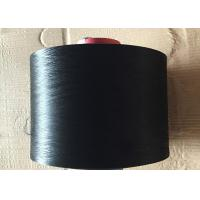 Black 100D / 144F SD DTY Polyester Yarn Filament Elastic Feature AA Grade