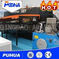 High Nibbling Rate CNC Hydraulic Punching Machine 800-2000 KN Punch Force Manufactures