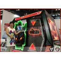 Moveable 5D Mini Cinema Mobile Cabinet 7D Movie Theater With Wheels Manufactures