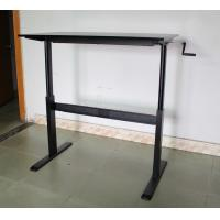 Hand Control Adjustable Computer Table Lightweight Anti Rust  For Office , Computer Desk , Computer Table Manufactures