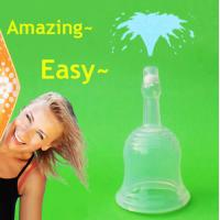Soft Silicone Women Reusable Menstrual Cup Female Hygiene Products Manufactures