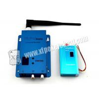China Blue Aluminum Gambling Accessory 4 Channel Wireless Receiver 1.2 Ghz on sale