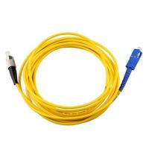 China 3M FC SC UPC Fiber Optic Patch Cable Single Mode Simplex Optical Patch Cord on sale