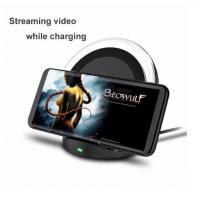 Quality QI Wireless Charging Stand / 2 Coils Wireless Fast Charger For Samsung S6 , LG , Nokia , Nexus for sale