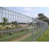 China 4x2 mesh 14gauge hot dipped galvanized welded utility fence for garden fence on sale
