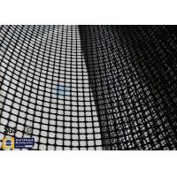 Buy cheap PTFE Coated Fiberglass Mesh Fabric 4X4MM 580GSM Black Conveyor Belt Roll from wholesalers