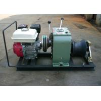 High Efficiency Fast Petrol Cable Winch Puller Engine Powered Capstan 3 Ton Manufactures
